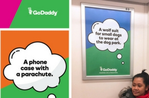 GoDaddy's Latest OOH Campaign Aims to Help Small Businesses Unlock Their Potential