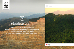 WWF and TBWA\Paris Send Travel Instagramers To Amazing Places That No Longer Exist