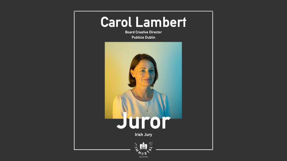 Publicis Dublin's Carol Lambert Joins The Immortal Awards Jury