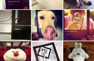 Ad & Design Folk Targeted with Corbis Images' Instagram Comp.