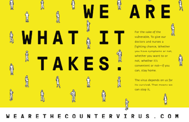 'We Are the Countervirus' Shares the Importance of Social Distancing