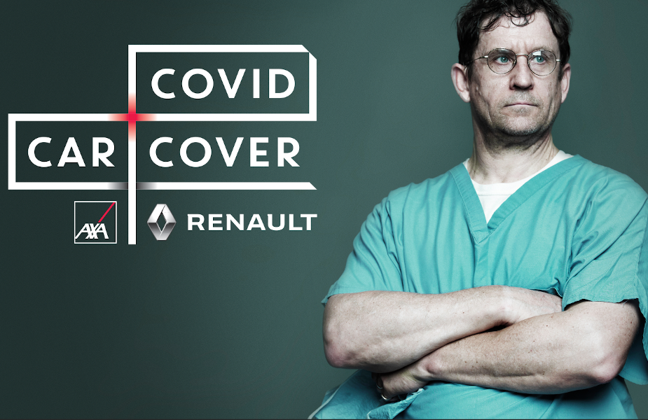Covid Car Cover Keeps Health Workers Moving During the Covid-19 Crisis