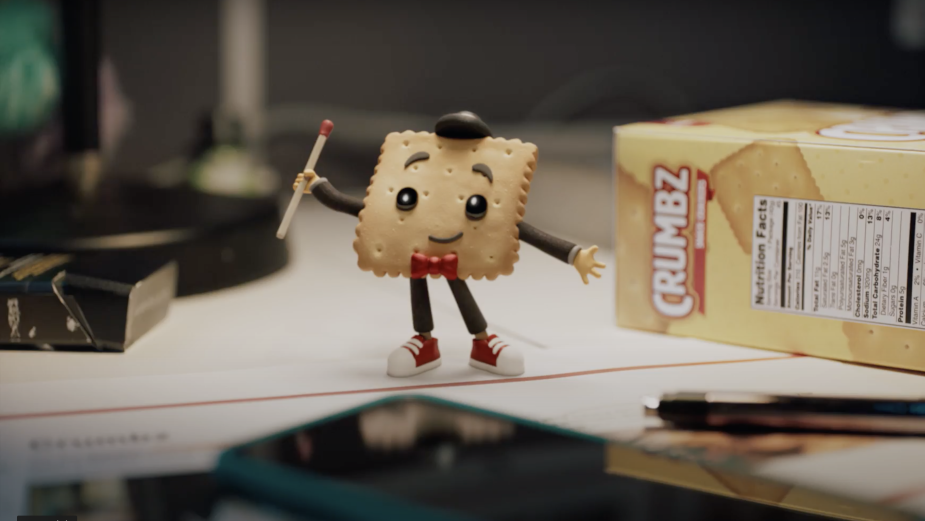 Crumbles the Cracker Has a Special Message for the Ad Industry on World Mental Health Day