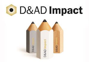 Third Annual D&AD Impact Awards Winners Announced