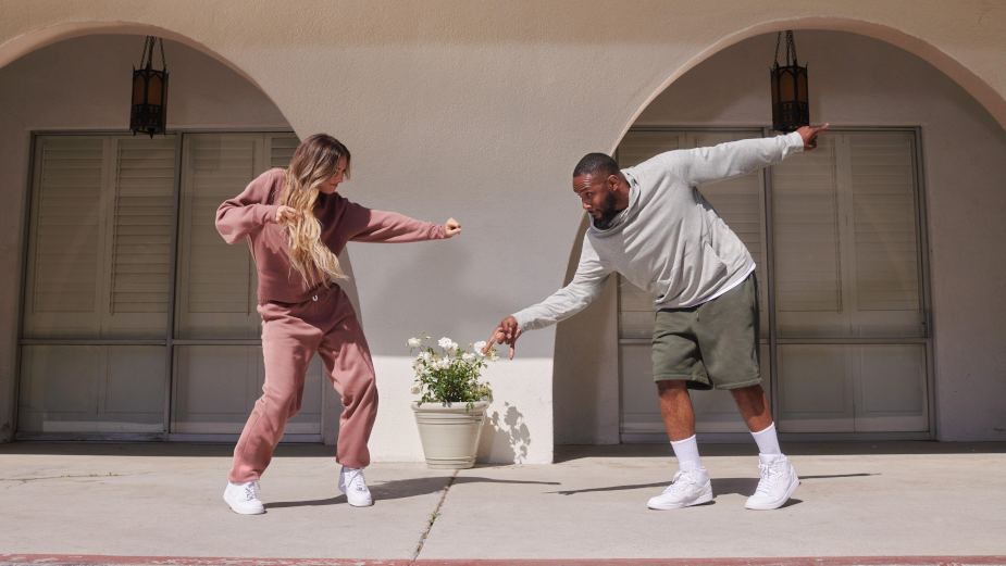 Celebrity Dance Couple tWitch and Allison Bust Some Moves for DICK'S Sporting Goods DSG Brand