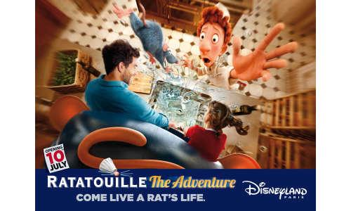 Transform Into a Rat With BETC's Campaign for Disneyland Paris