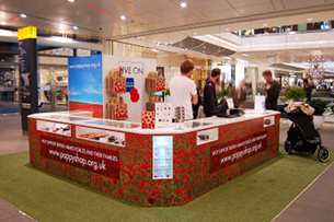 Geometry Global and The Pop-Up Poppy Shop