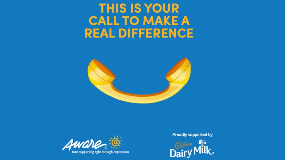 Cadbury Dairy Milk Campaign Helps to Recruit Volunteers for Aware