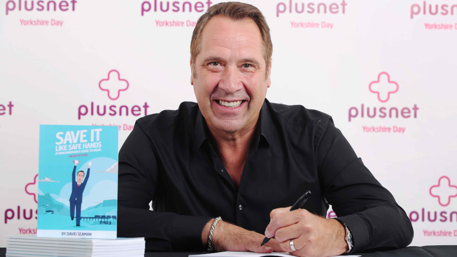 Save it Like David 'Safe Hands' Seaman with Plusnet's Moneysaving Guide