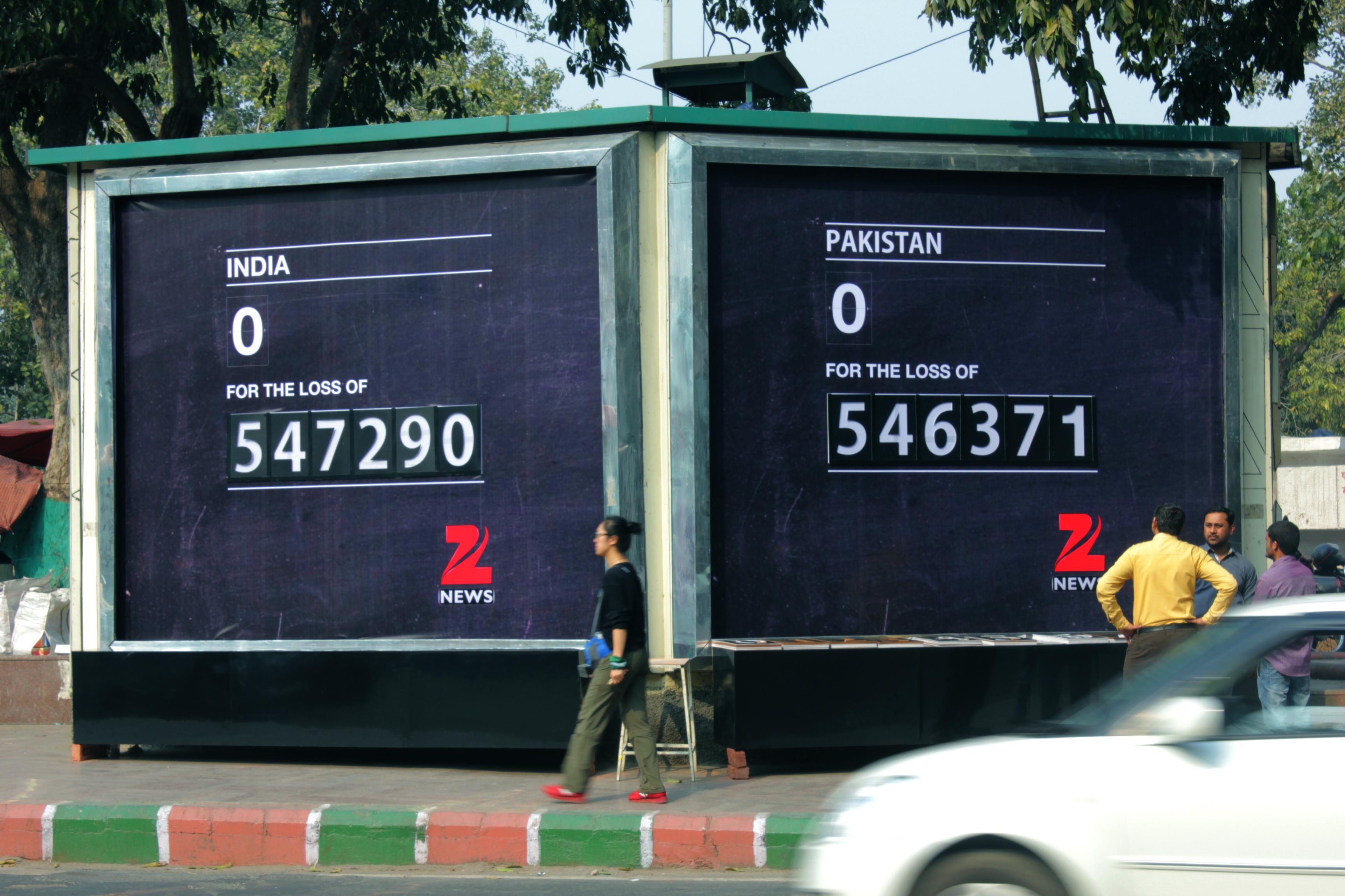 DDB MudraMax-OOH and Zee News Create A 'Misunderstood Scoreboard'