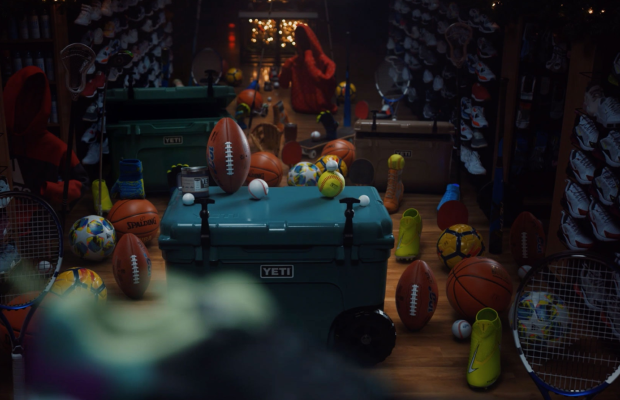 It's Anything But a Silent Night in DICK's Sporting Goods' Christmas Spot