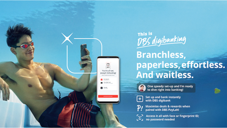 DBS Leads Digibanking Race with Star-Studded Print Campaign