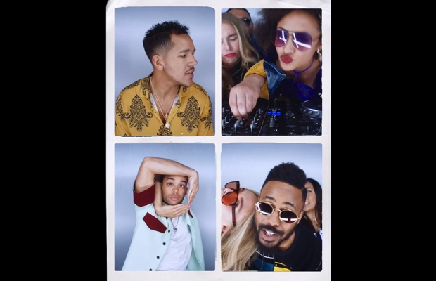 The Disciples and Friends Party Straight Down the Lens in 'No Ties' Video