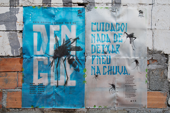 Your Shot: How BETC's Dissolvable Poster is Ending Mosquito Diseases