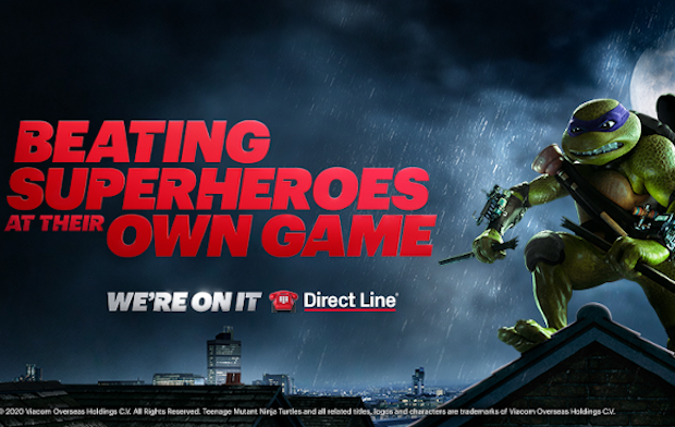 Direct Line Beats the Superheroes at Their Own Game
