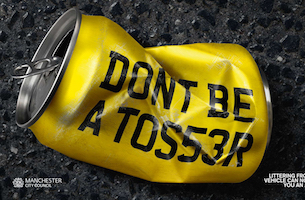 Havas Appointed By Keep Britain Tidy for New Roadside Littering Campaign