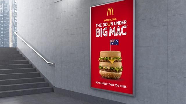 Macca's Celebrates Aussie Farmers With New Big Mac Campaign via DDB Sydney