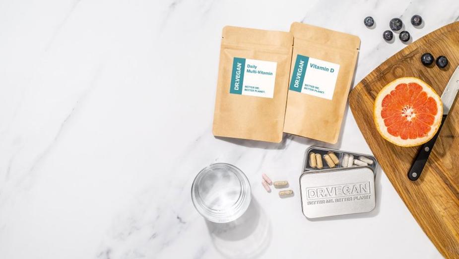 Bold New Brand DR.VEGAN Brings Ethical Vegan Vitamin Supplements Direct to Your Door