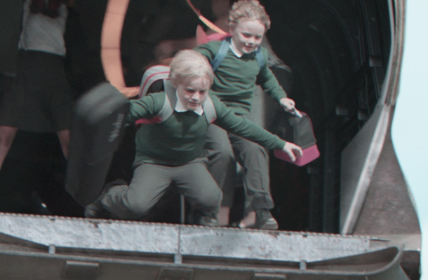 The School Run Becomes a Military Operation in Dramatic Argos Ad