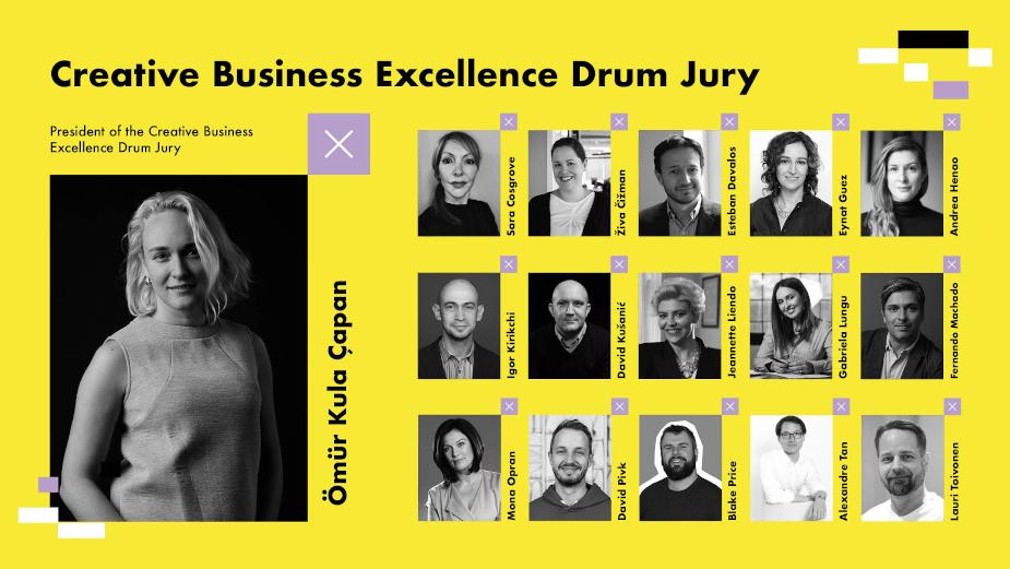 Golden Drum Announces Creative Business Excellence Drum Jury