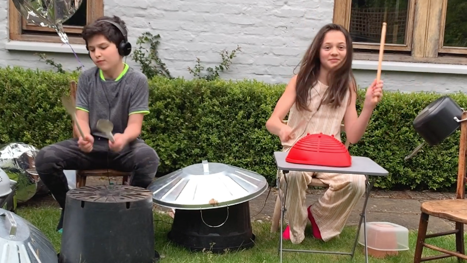 Argos Sparks Imagination at Home With New Drumming Challenge