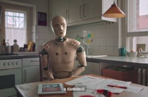 Crash-Test Dummy Finds his Two-Wheeled Calling in ACV Campaign