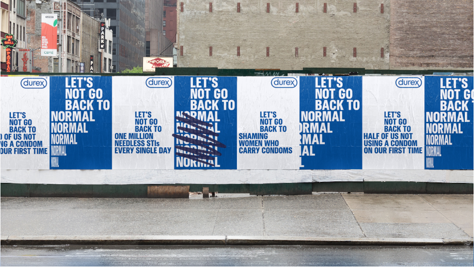 Durex Tells the World to 'Not Go Back to Normal' in DOOH Campaign