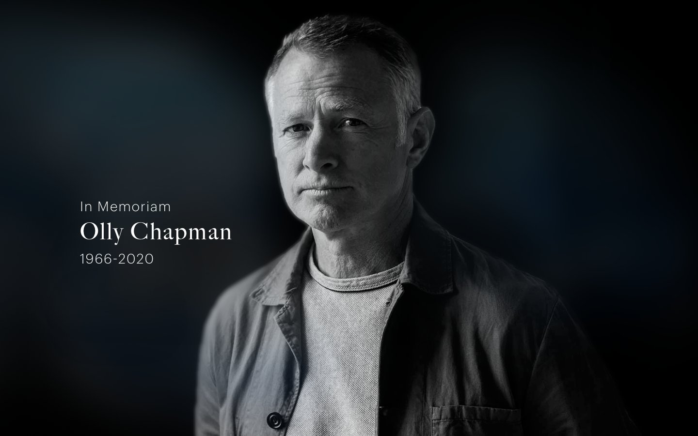 Industry Shocked and Saddened by Death of Olly Chapman