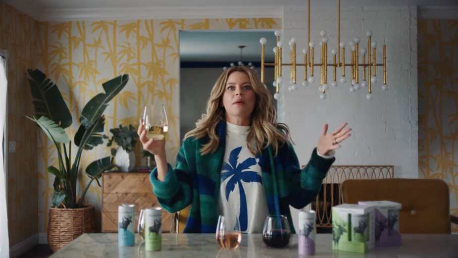 Elizabeth Banks Causes Chaos with Canned Wine in Archer Roose's Hilarious Spot