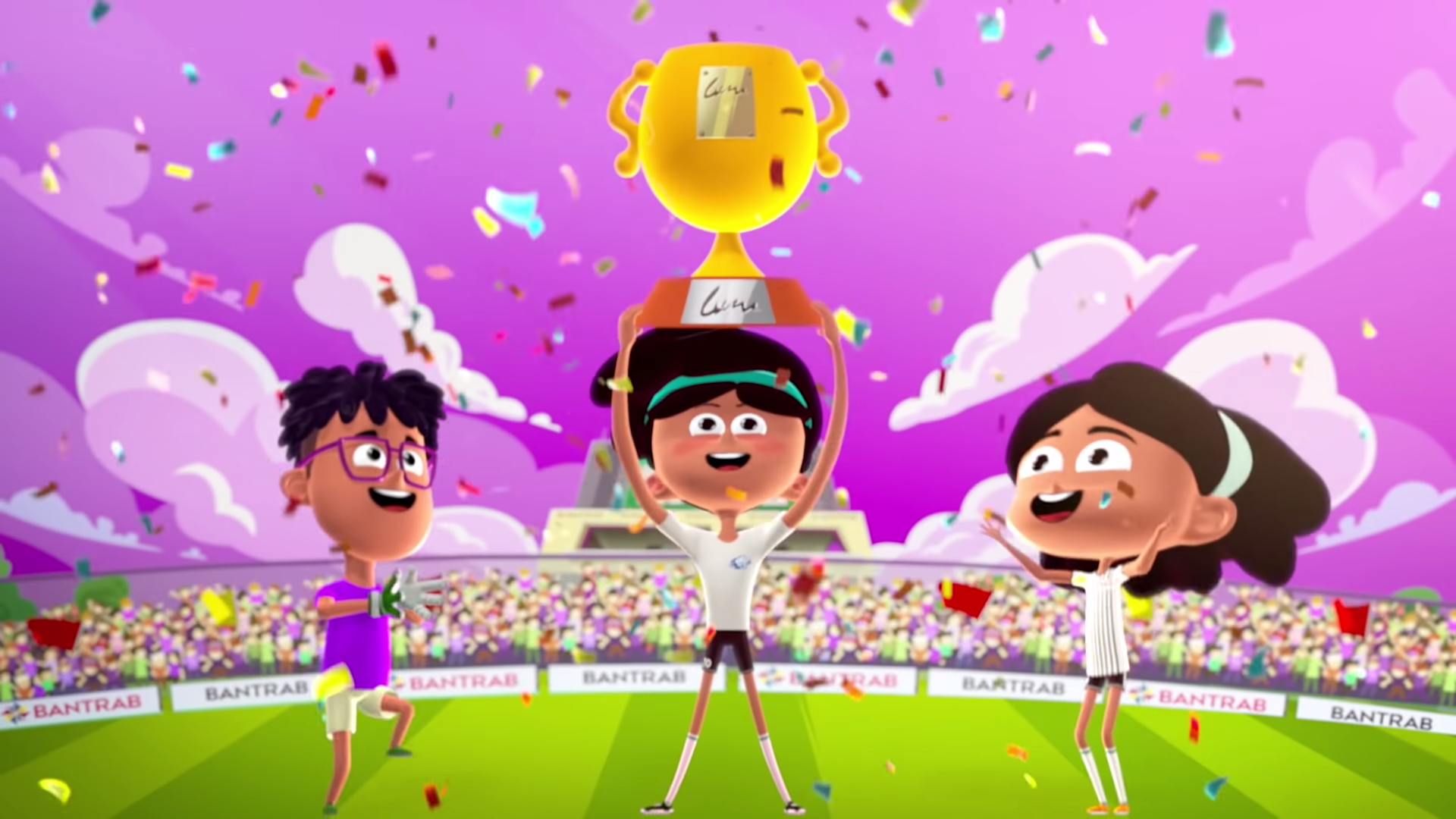 Rocknrolla and BANTRAB Bank's Animated Series for Kids Reaches 6 Million Views