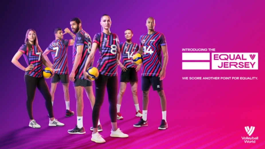 Volleyball World Launches 'Equal Jersey' to Support Gender Equality on World of Sport