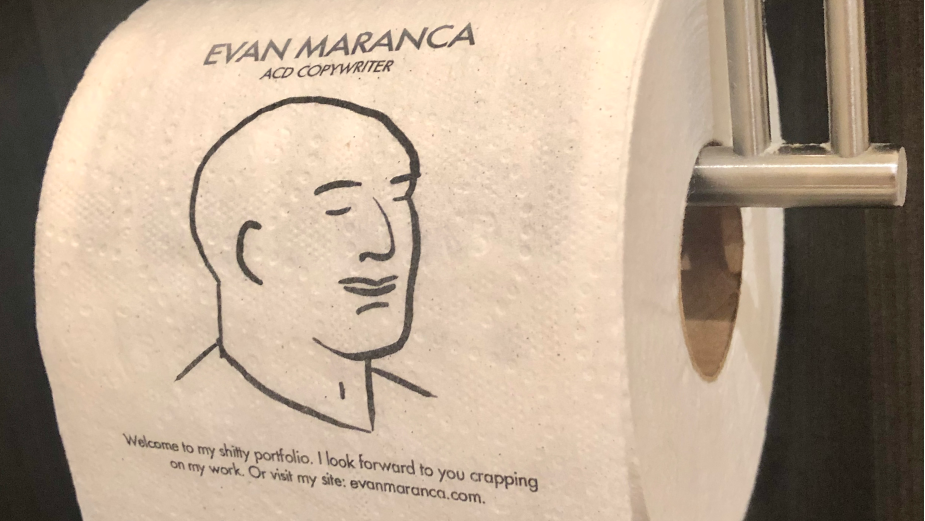 A Roll for a Role: Laid-off Creative Printed His Portfolio on Loo Roll and Is Selling It for $150K