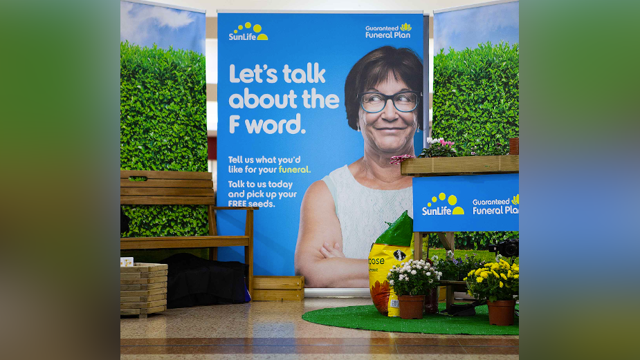 SunLife Breaks Social Taboos on Funeral Planning with 'Let's Talk About the F Word'