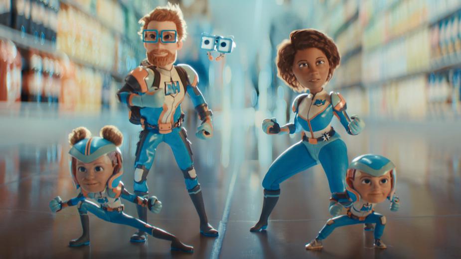 Albert Heijn's Action Heroes Get Supermarket Shoppers Super Discounts