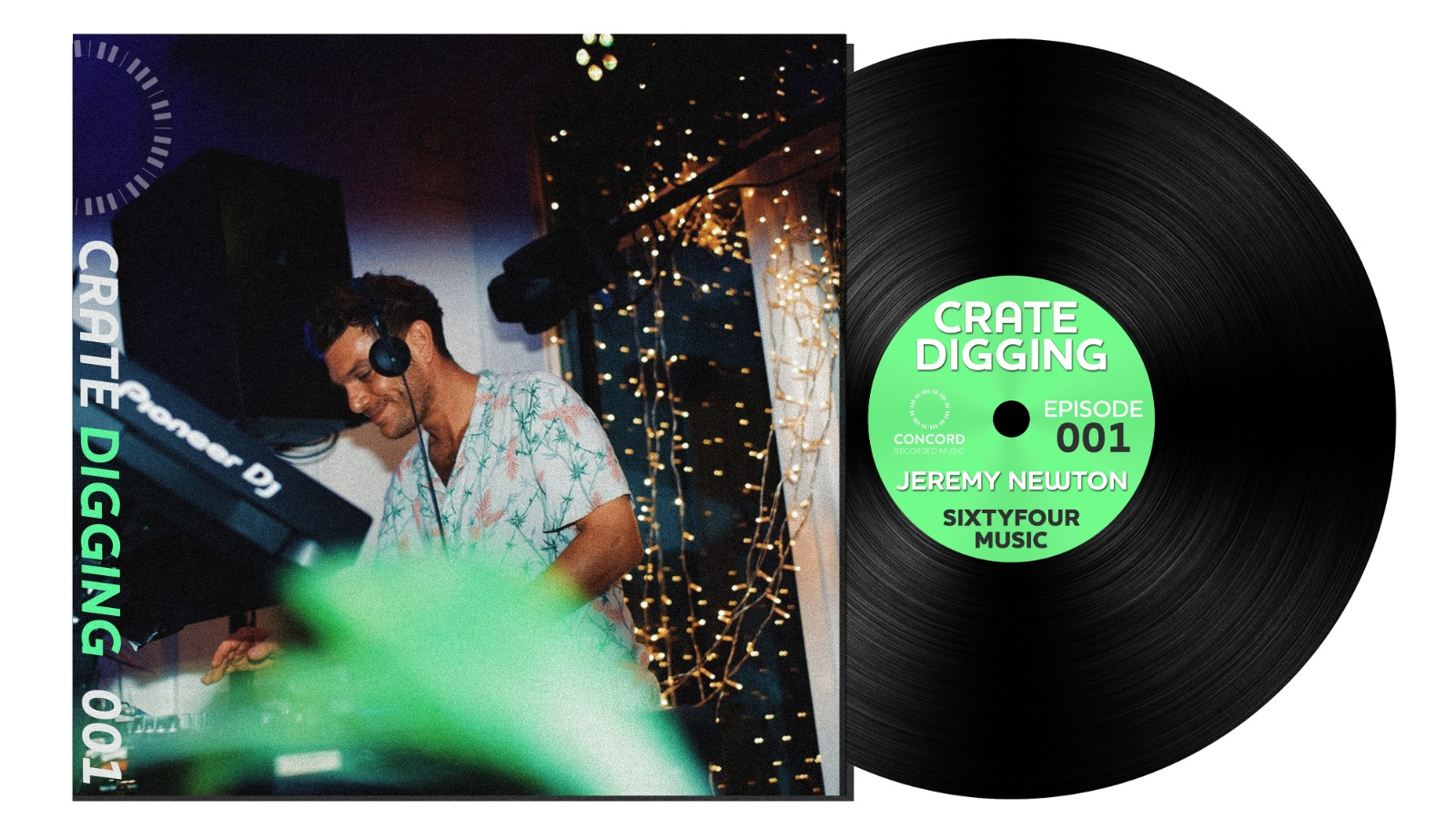 Crate Digging: Jeremy Newton, SixtyFour Music