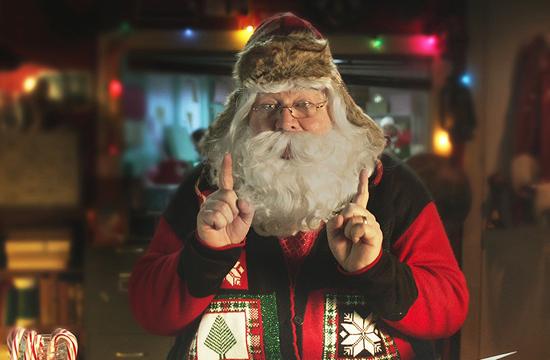B-Reel & B-Reel Films'Direct Line to Santa'
