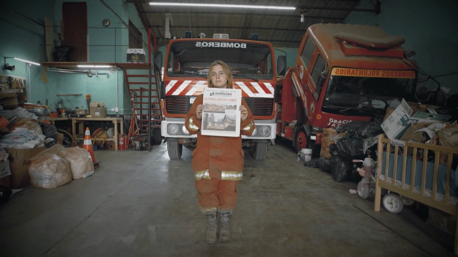 Fireproof Newspapers in Patagonia Spark Awareness about Forest Fires
