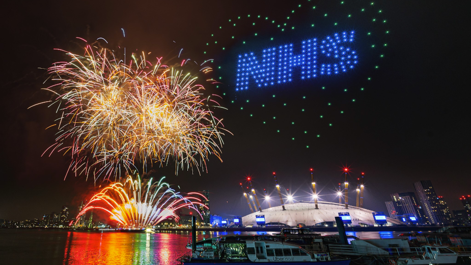 Mayor of London's NYE Show Welcomes 2021 with Message of Thanks and Hope