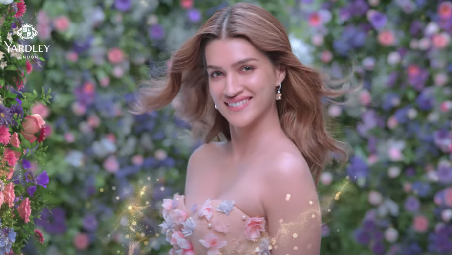 Yardley Deodorant Redefines Freshness with Bollywood Actor Kriti Sanon's Floral Touch