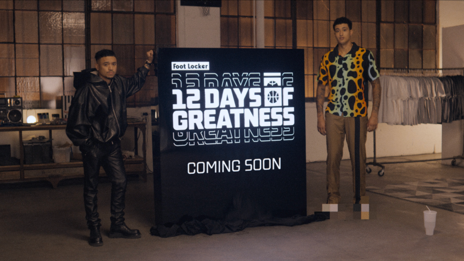 The Worst Kept Secret Is Out: Foot Locker and Don C Reveal 12 Days of Greatness