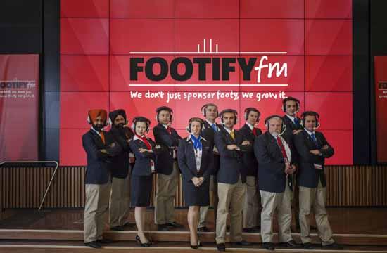 A first in Australian sport, 'FootifyFM'