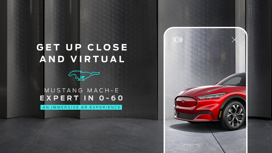 Ford Launches New Mustang Mach-E Augmented Reality Experience