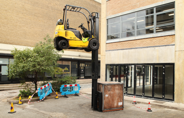 Is This a Malfunction? Behind The Glue Society's Brexit-Inspired Installation