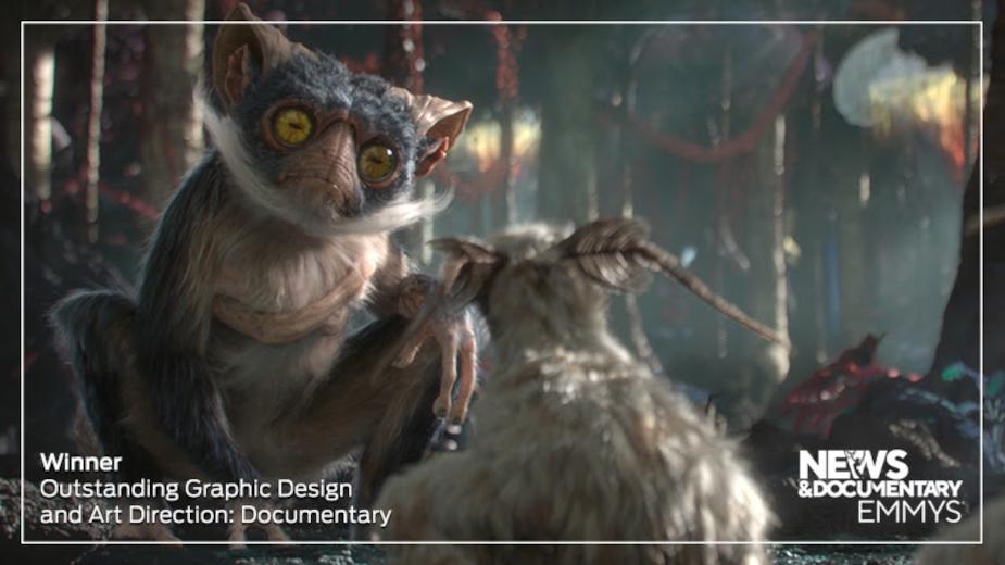 Framestore Nets Emmy for Alien Worlds Creativity