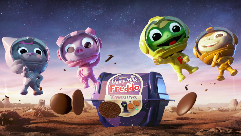 Cadbury Launches Freddo Treasures into Space for Out of this World Campaign