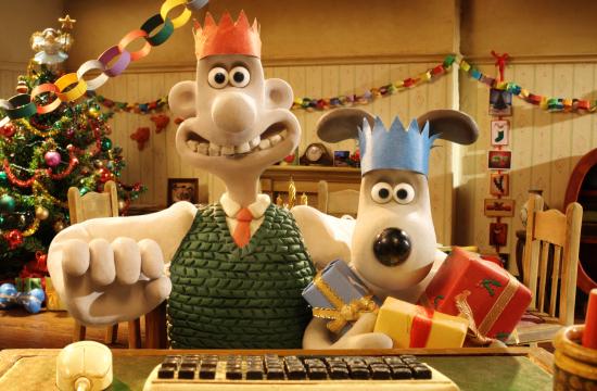 Wallace & Gromit's Google+ Xmas