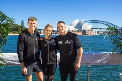 Gatorade Celebrates G Active Launch With Pop-up HydroGym on Sydney Harbour via TBWA + Eleven