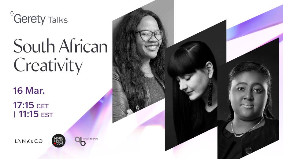 GERETY TALKS: South African Creativity
