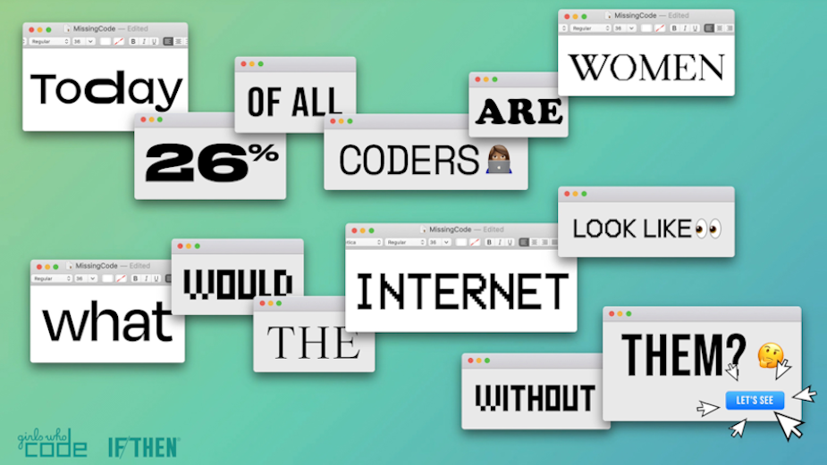 Girls Who Code Breaks the Internet with Punchy Digital Campaign