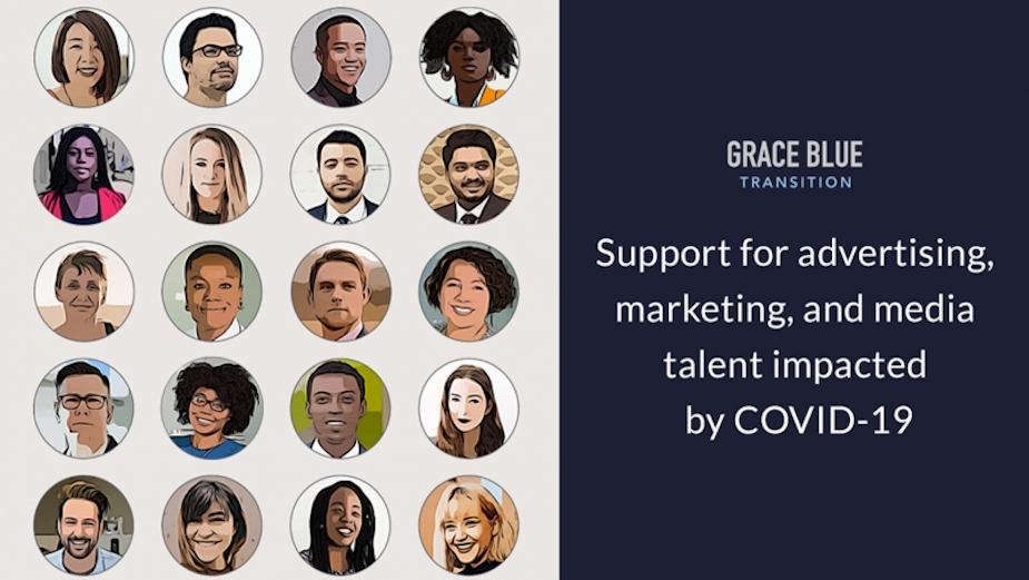 Grace Blue Launches TRANSITION for Creative Talent Displaced by Covid-19